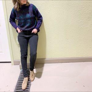 Sweaters - Vintage Purple Jessica Turtleneck